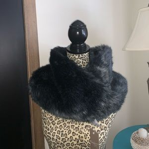 Anthropologie faux fur shall